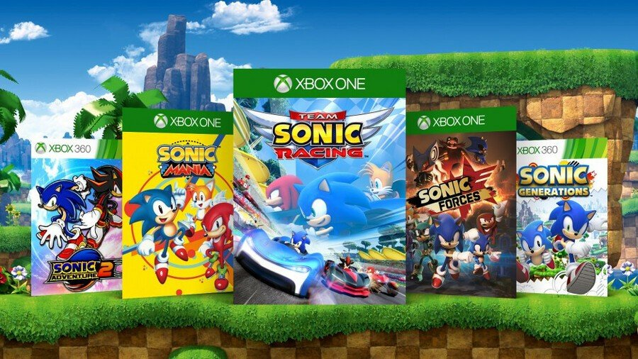 Pick One: Which Is Your Favourite Sonic Game On Xbox?