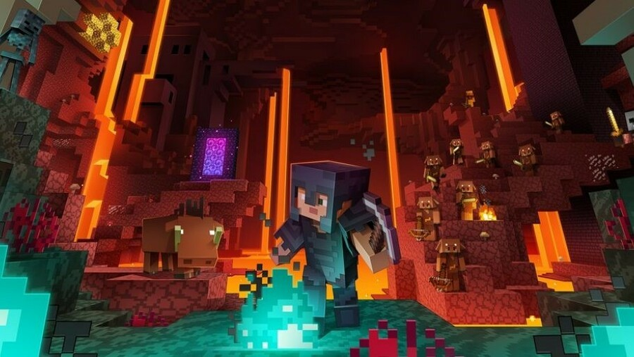 The Nether Update Is Now Available For Minecraft On Xbox One