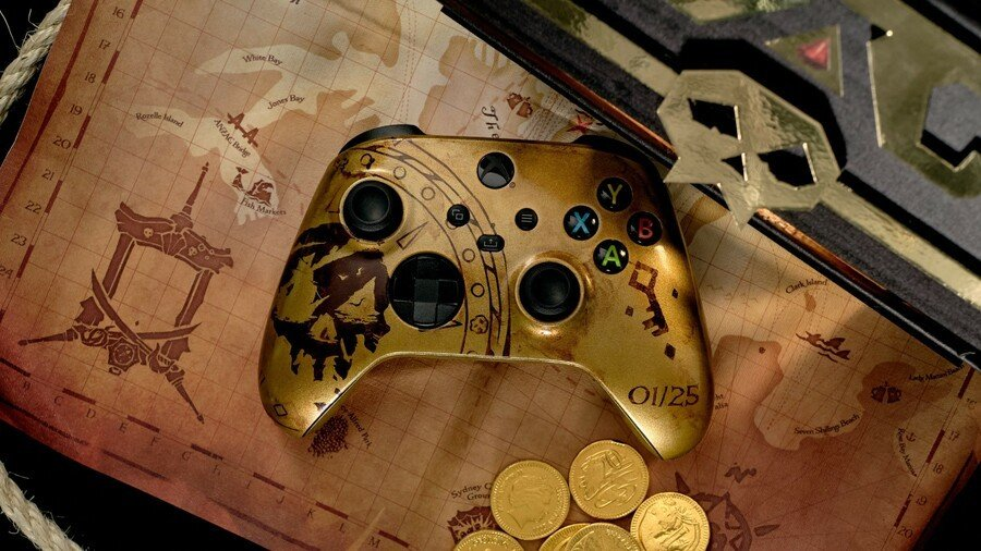 Sea Of Thieves Controller Part Of Xbox Competition