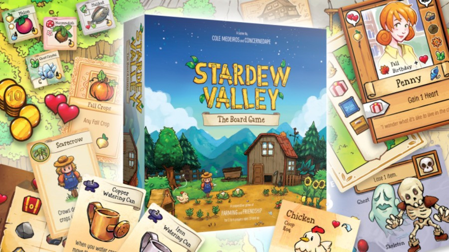 Stardew Valley Has Received The Board Game Treatment, And It's Available Now