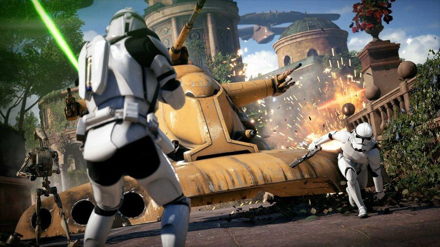 Star Wars Battlefront II Cast Members Working On Secret Project