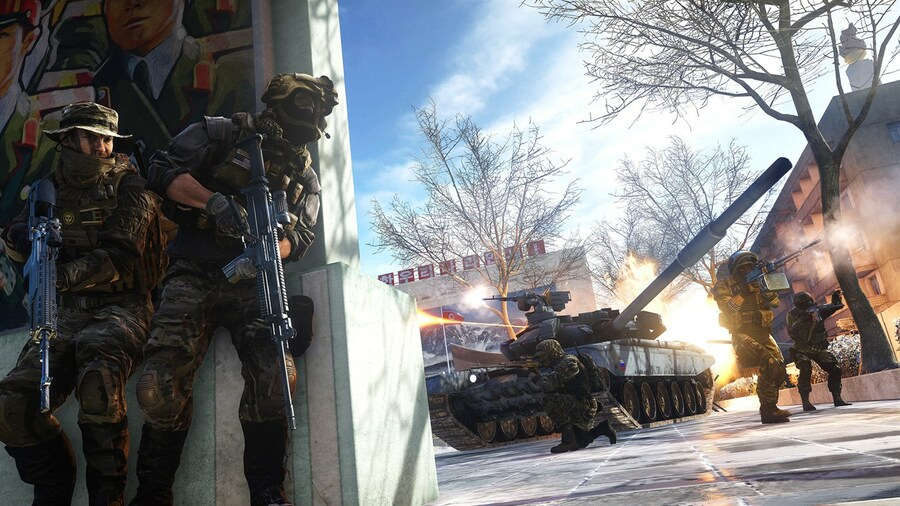 These Leaked Battlefield 6 Images Showcase Explosions And Robot Dogs