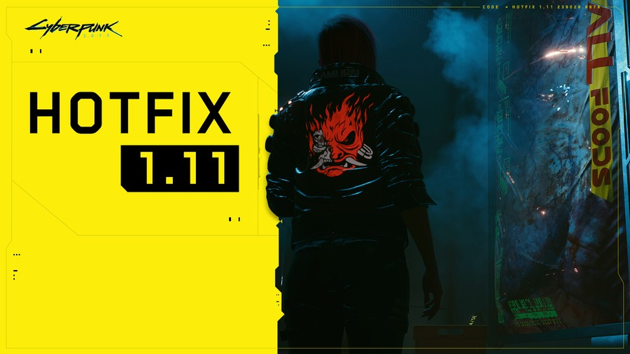 CDPR Releases Hotfix 1.11 For Cyberpunk 2077, Here's What's Included