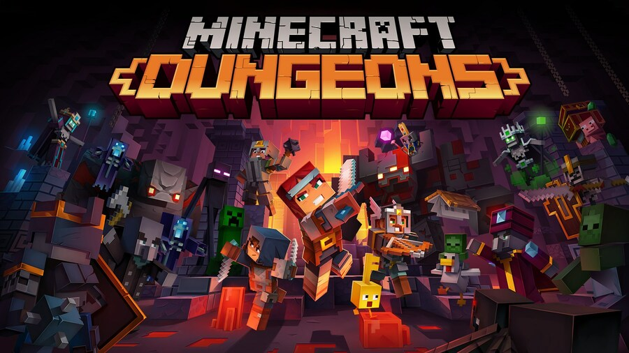Minecraft Dungeons Is Now Available With Xbox Game Pass