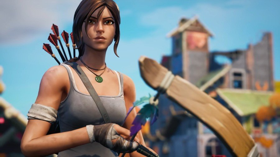Fortnite Adds Lara Croft For New Season