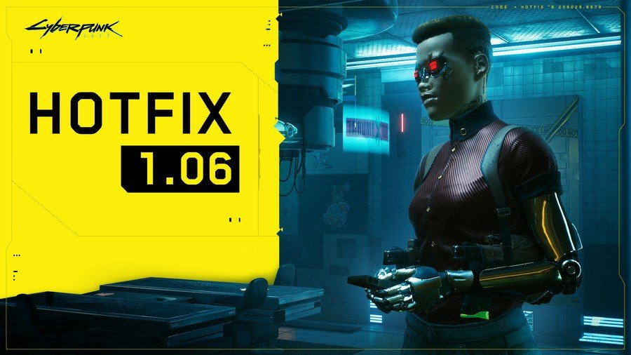 CDPR Releases Hotfix 1.06 For Cyberpunk 2077, Here's What's Included