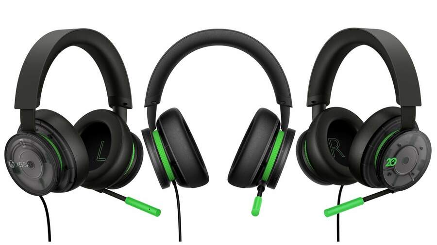 The Xbox Stereo Headset Is Getting A 20th Anniversary Edition