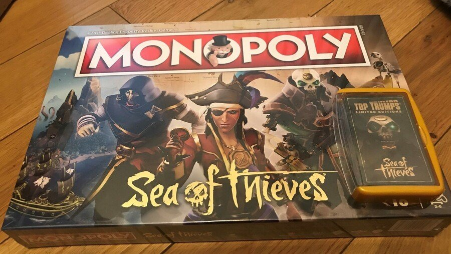 Did You Know? Sea Of Thieves Now Has Its Own Monopoly Set