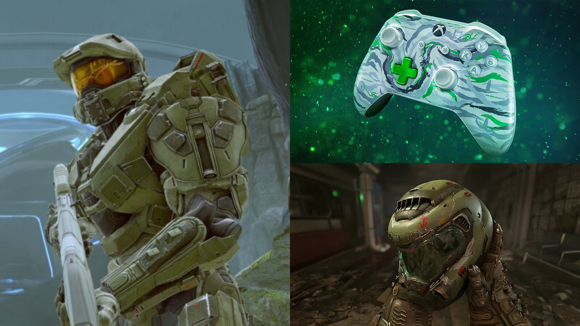 Random Do You See A Controller Master Chief Or Doomguy Xbox News