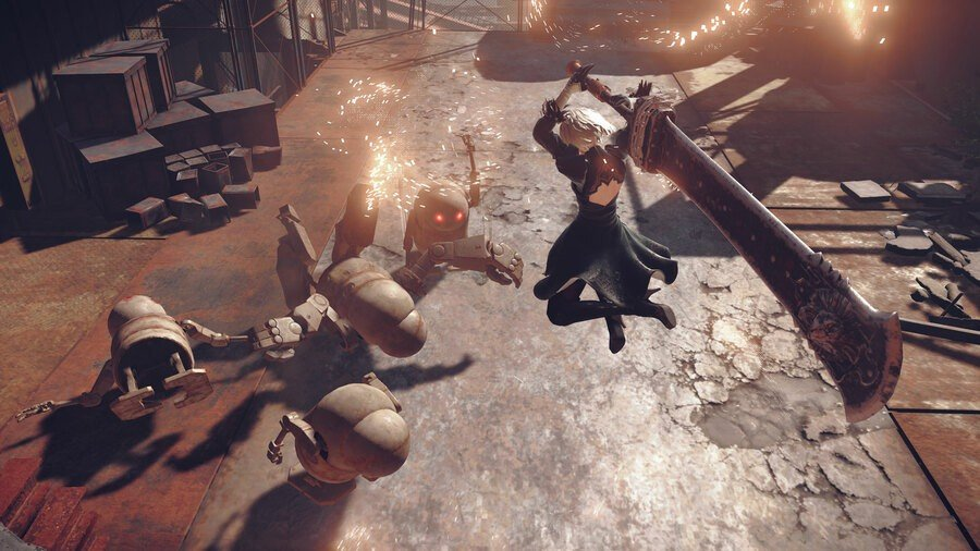 NieR: Automata Is Getting Review Bombed On Steam Game Pass Version Improved