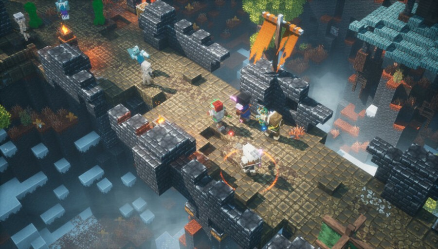 Minecraft Dungeons Adds Crossplay, New DLC Later This Year