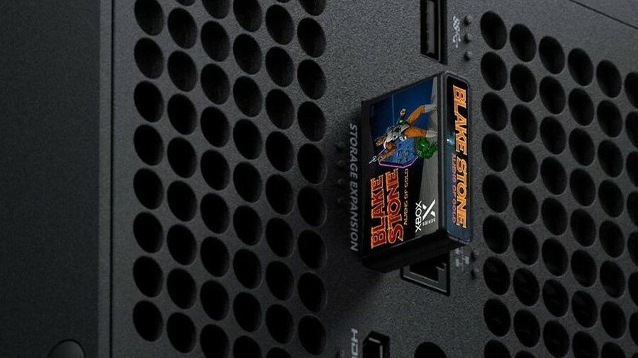 Here's What Xbox Series X Games Could Look Like As Retro Cartridges