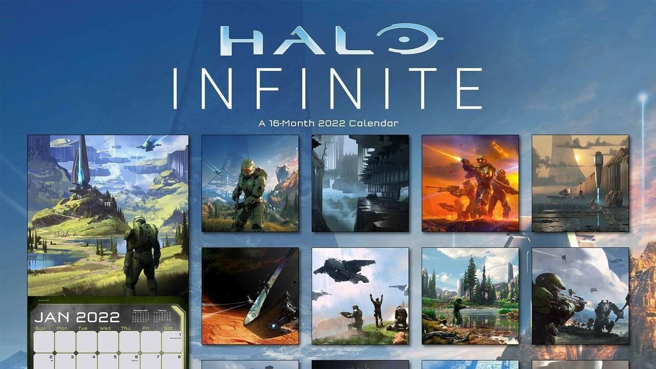 Calendrier E3 2022 Halo Infinite 2022 Calendar Reveals Never Before Seen Artwork