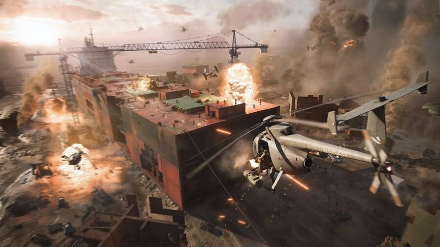 EA confirme que Battlefield 2042 aura des cartes plus grandes et plus de joueurs sur Xbox Series X