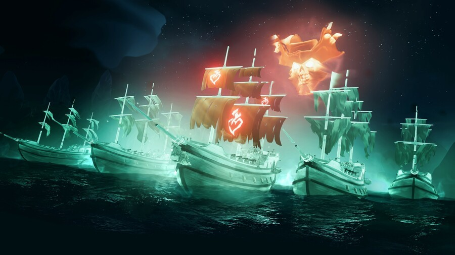 Sea Of Thieves' Latest Update Introduces Ghost Ships, Available Now