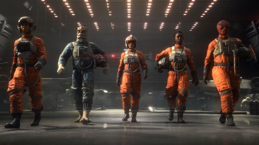 EA Isn't Planning To Add More Content To Star Wars: Squadrons