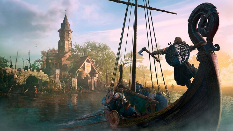Assassin's Creed Valhalla Helped Me Confront My Anxiety