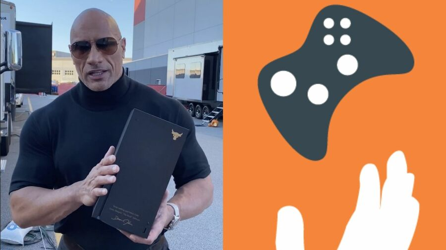 The Rock Delivers 20 Custom Xbox Series X Consoles To Children's Hospitals