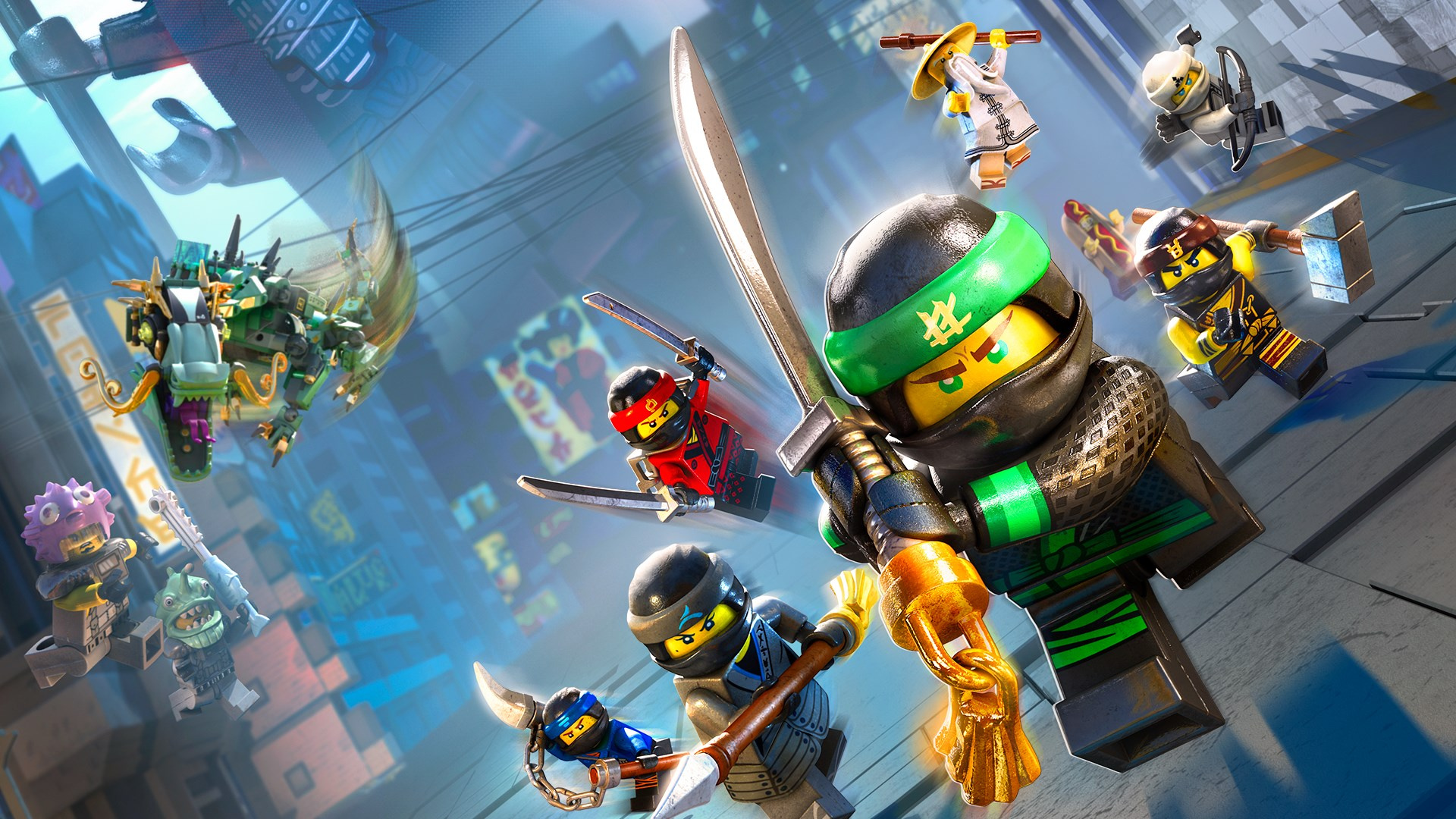 The LEGO Ninjago Movie Game Is Currently Free On Xbox One ...