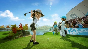 During the Golf event, you can spot the direction of the wind thanks to wisps of air - a lovely touch