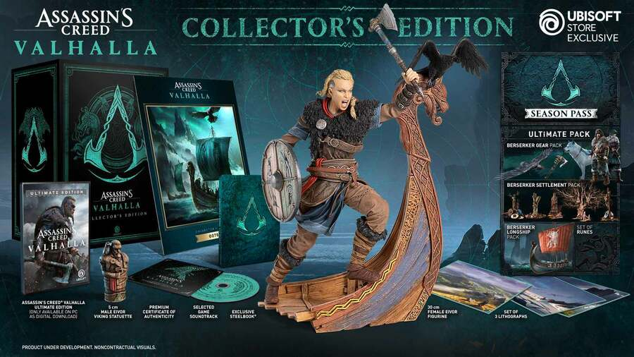Ubisoft Ditches Discs For Collector's Edition Pre-Orders On Xbox