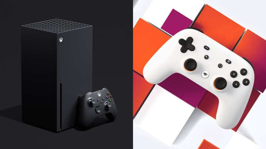 Google Stadia Running On An Xbox Series X