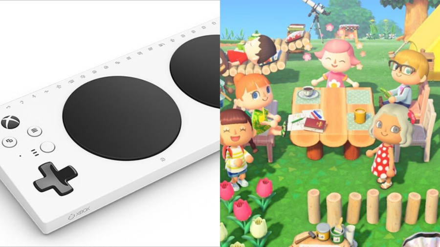 Inspiring Gamer Uses Xbox Adaptive Controller To Play Animal Crossing On Nintendo Switch