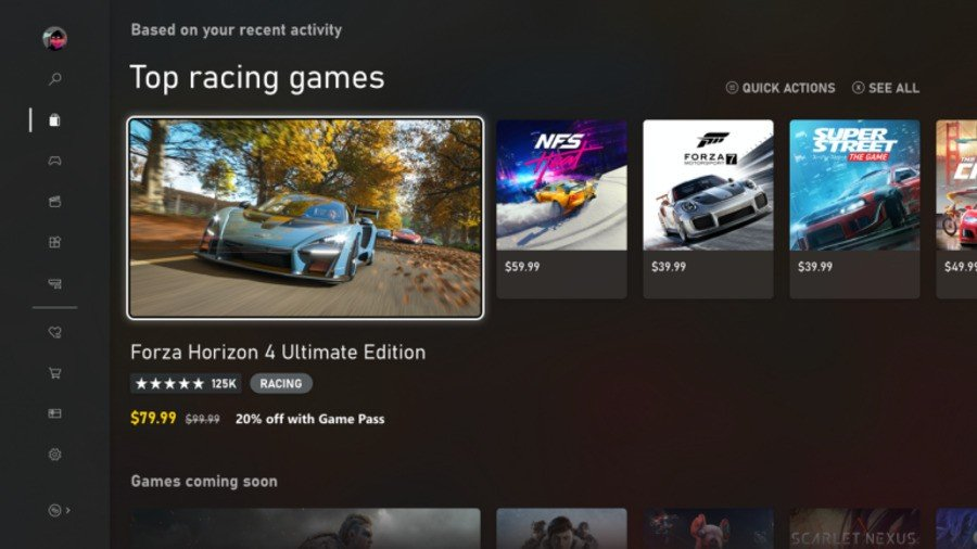 The New Xbox Store Has Begun Rolling Out To Insiders