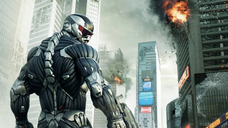 Hold Up, Is A Crysis 2 Remaster Being Teased?