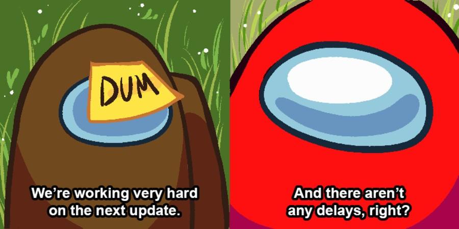 Among Us Xbox Delayed