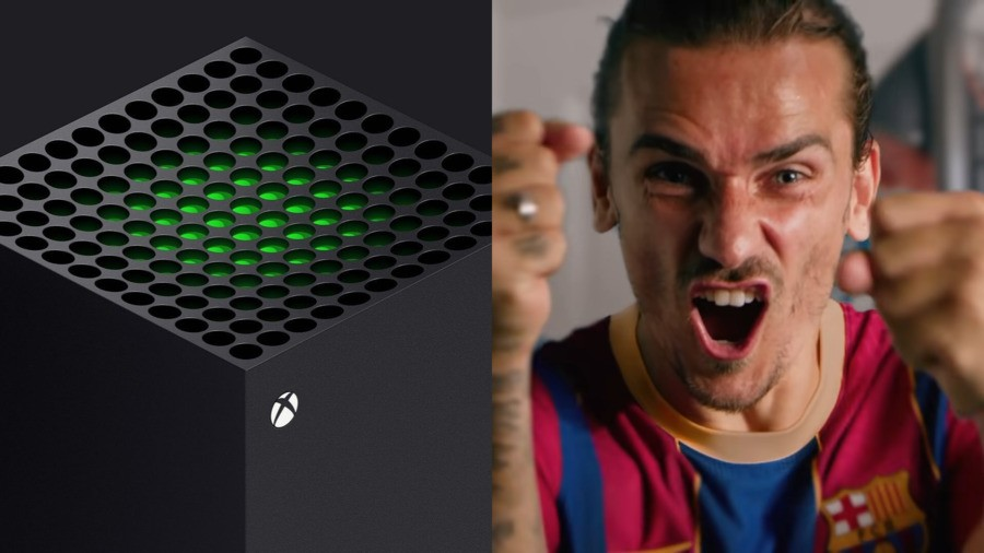 Barcelona Star Antoine Griezmann Receives Personalised Xbox Series X