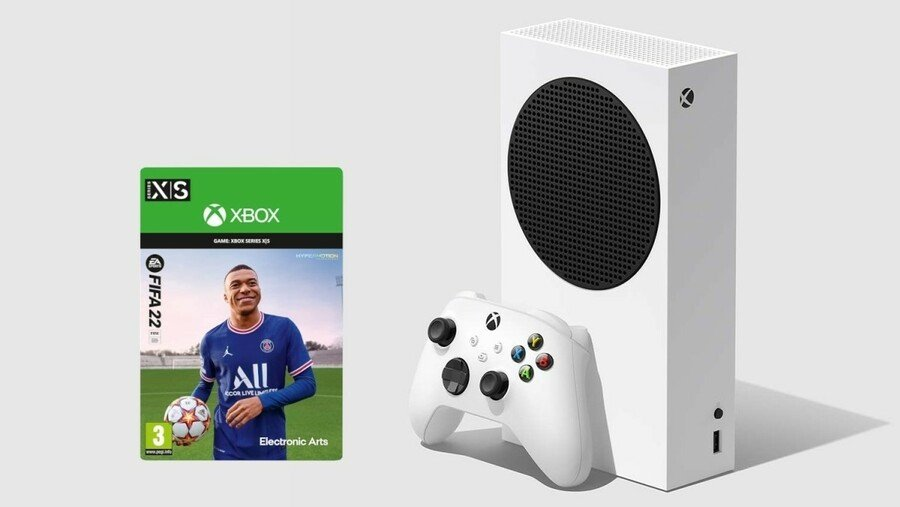 Deals: Get An Xbox Series S With A Free Copy Of FIFA 22 (UK)