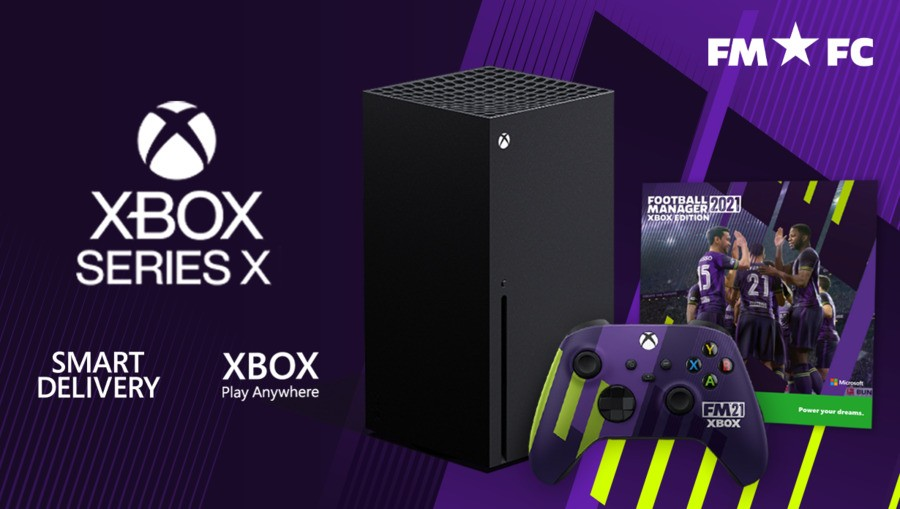 You Might Be Able To Win A Football Manager Xbox Series X Bundle