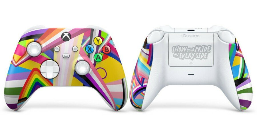 Xbox Fans Aren't Happy That You Can't Buy The New Pride Controller