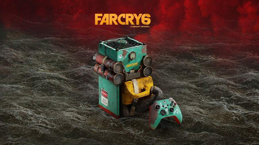 You Could Win This Far Cry 6 Xbox Series X With Microsoft Rewards