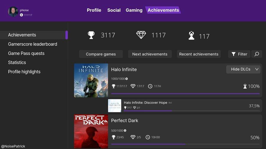 Random: Team Xbox Acknowledges Fan-Made Achievements Concept