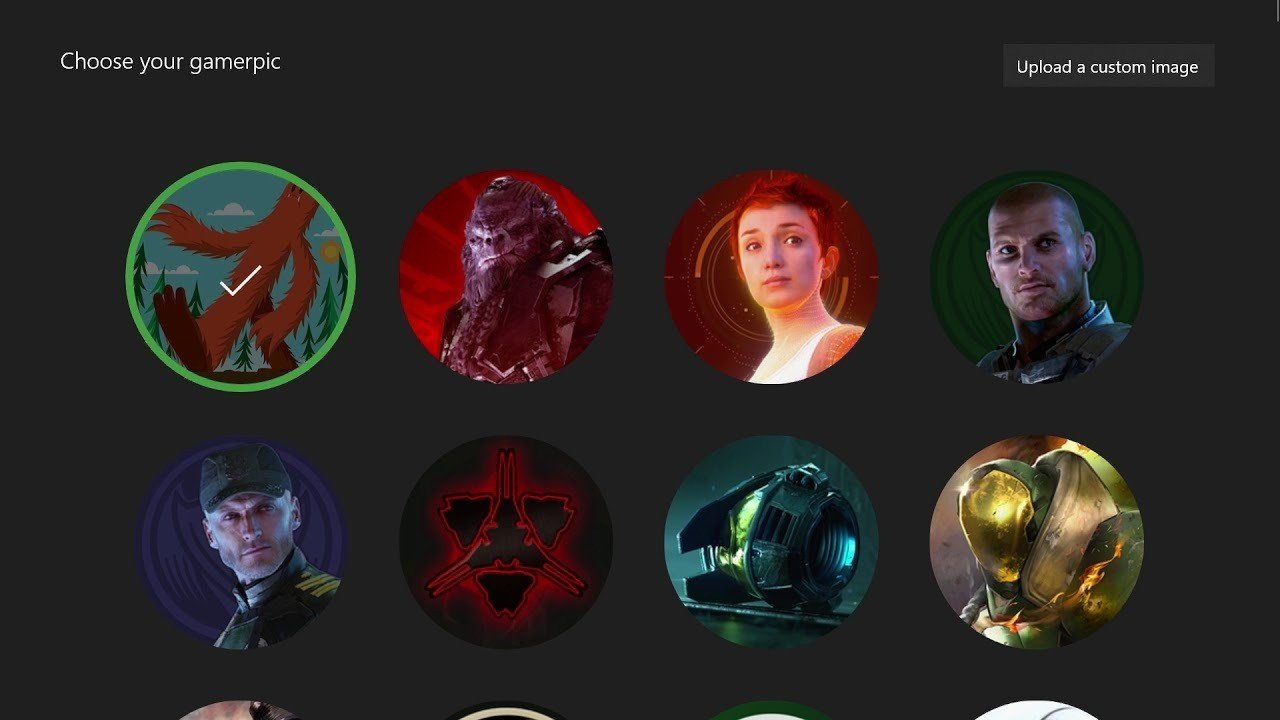 Custom Gamerpics Have Been Re Enabled On Xbox One Xbox News