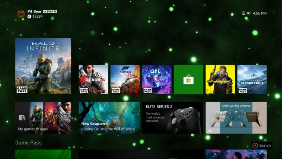 New Dynamic Background Available On Xbox Series X S