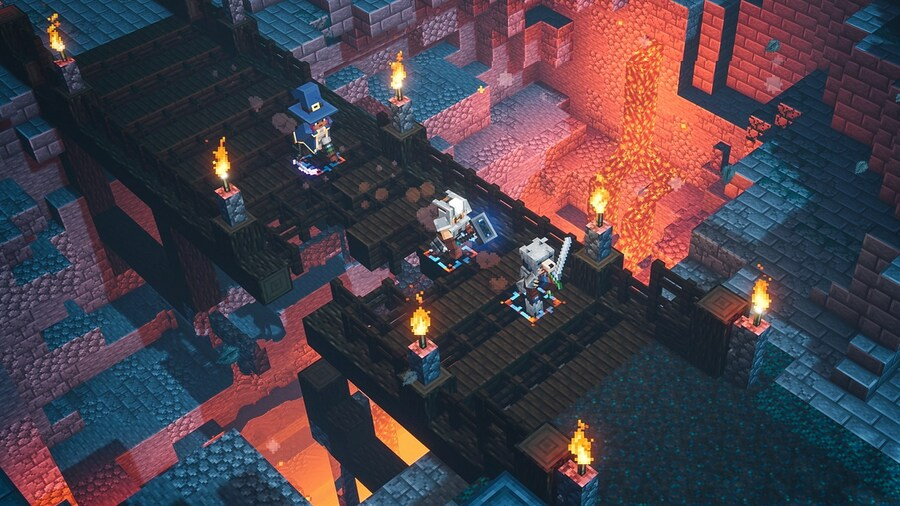 Minecraft Dungeons Has Had 11.5 Million Unique Players In Its First Year
