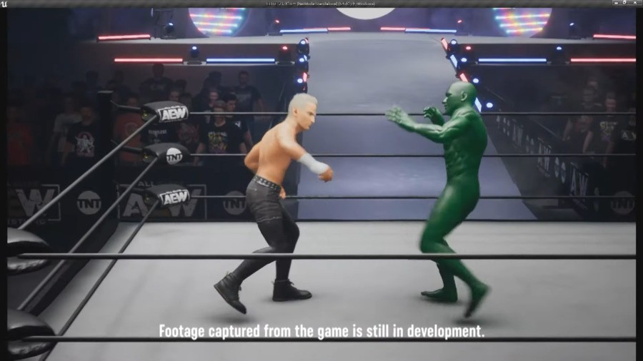 Video: Here's A Very Early Look At Gameplay From The New AEW Game
