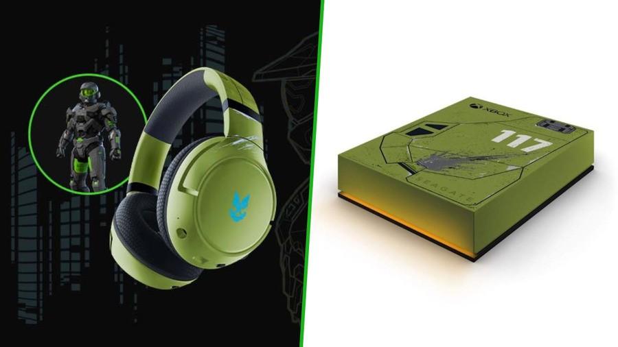 Razer, Seagate Announce Halo Infinite Headset & USB Game Drives