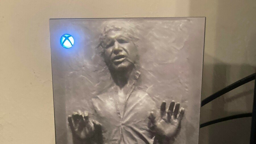 Random: This Xbox Series X Han Solo Skin Is Truly A Thing Of Beauty