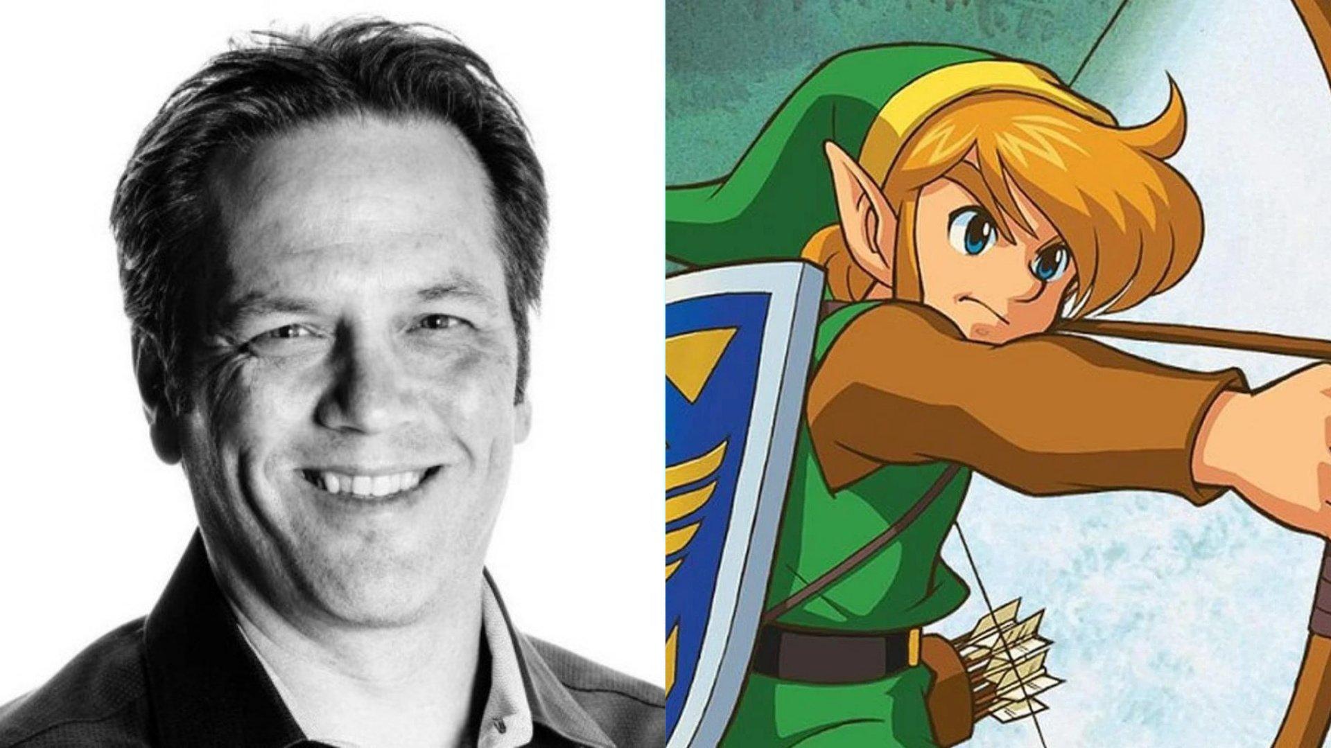 También Phill Spencer celebra el 35 aniversario de Zelda