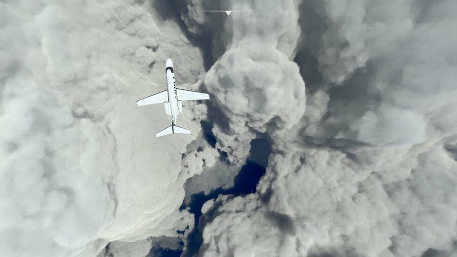 Hurricane Ida Is Looking Suitably Scary In Microsoft Flight Simulator