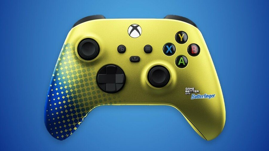 We Definitely Want To Lay A Finger On These Butterfinger Xbox Series X Controllers