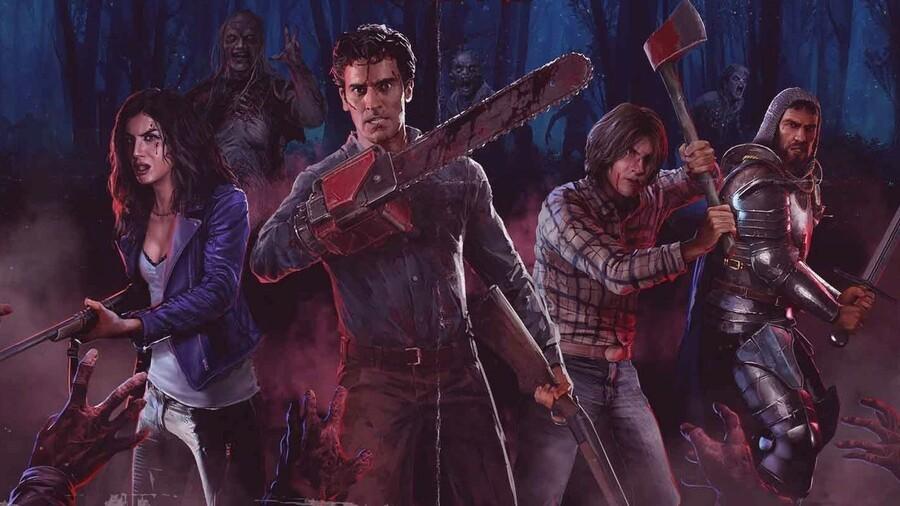 Evil Dead le jeu a été repoussé à 2022, le mode solo a été ajouté