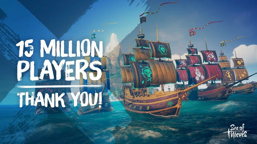 Sea Of Thieves Has Now Surpassed 15 Million Players