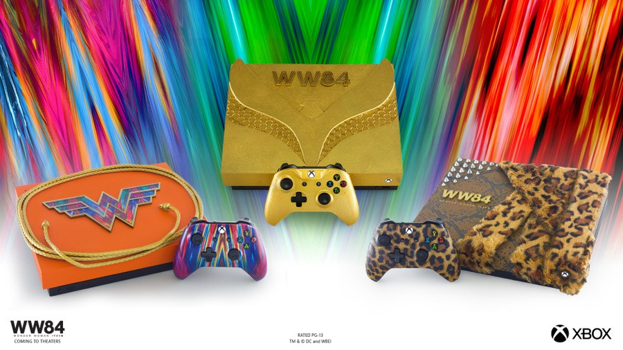 Xbox Is Giving Away Three Stunning Wonder Woman Consoles