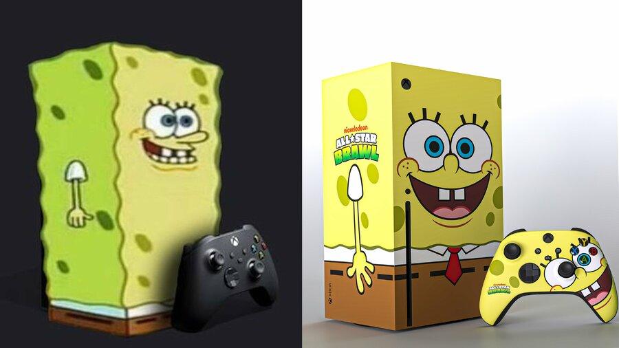 Random: The SpongeBob Xbox Series X Has Been Trending On Twitter