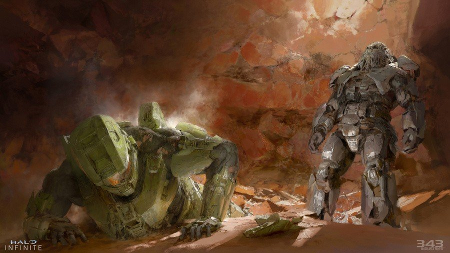 343 Industries Shares A Sneak Peek At 'The Art Of Halo Infinite'